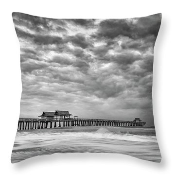 Naples Monochrome Throw Pillow