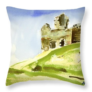 Napoleonic Lookout Throw Pillow