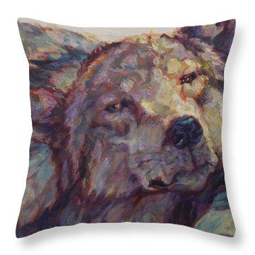 Napper Throw Pillow