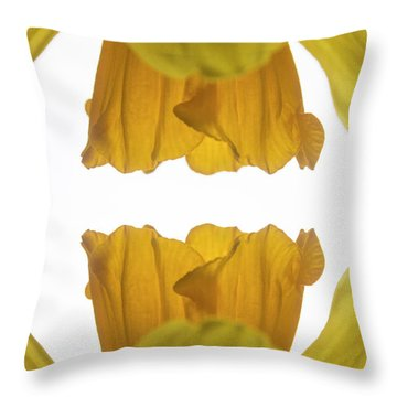 Narcissus Throw Pillow by Ana Mireles