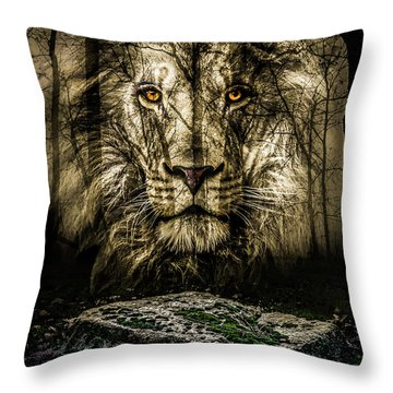 Narnia Lives Throw Pillow