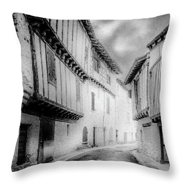 Narrow Alley Throw Pillow by Celso Bressan