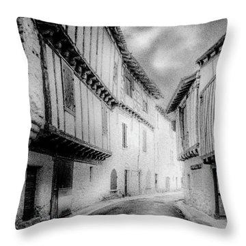 Narrow Alley Throw Pillow