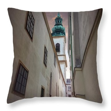 Vienna throw pillows fine art america