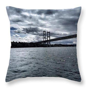 Narrows Bridge Throw Pillow