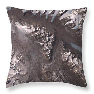 Nasa Image-dry Valleys, Antarctica-2 Throw Pillow