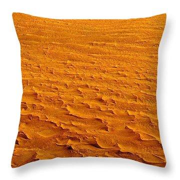 Nasa Image-namib-naukluft National Park-3  Throw Pillow