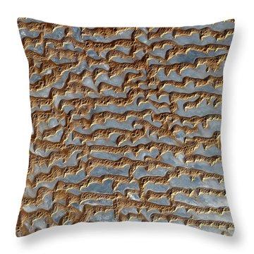 Nasa Image-rub' Al Khali, Arabia-2 Throw Pillow