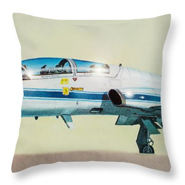 Nasa T-38 Talon Throw Pillow