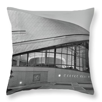 Nascar Hall Of Fame Throw Pillow