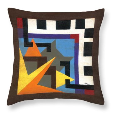 Nashville East Throw Pillow