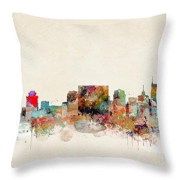 Nashville Tennessee Throw Pillow