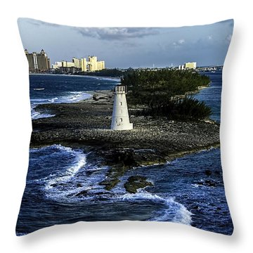 Nassau Light Throw Pillow by Gordon Engebretson