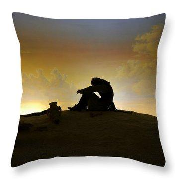 Nassau - Marooned Throw Pillow