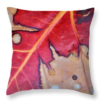 Nat. Abstr. 8 Fc Throw Pillow