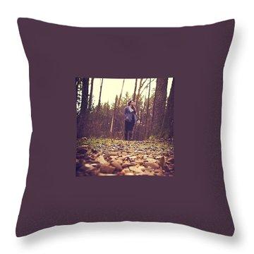 Trail Throw Pillows