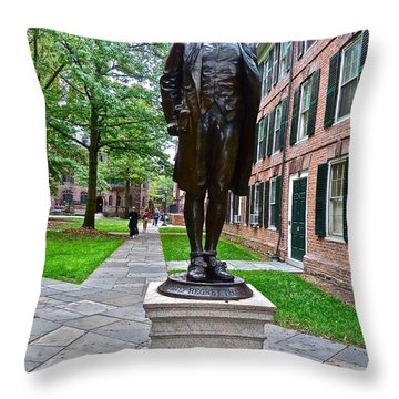 Nathan Hale Throw Pillow