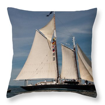 Nathaniel Bowditch 1 Throw Pillow