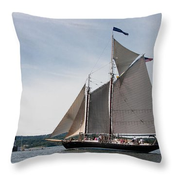 Nathaniel Bowditch 4 Throw Pillow