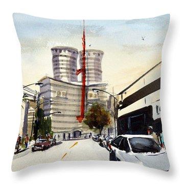 Nation House, Nairobi Throw Pillow