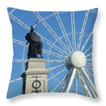 National Armada Memorial Throw Pillow