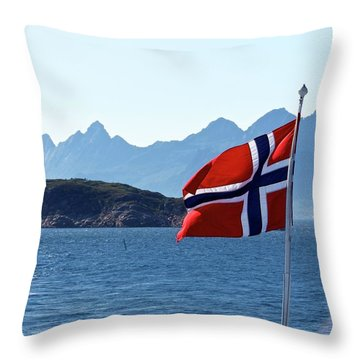 National Day Of Norway In May Throw Pillow