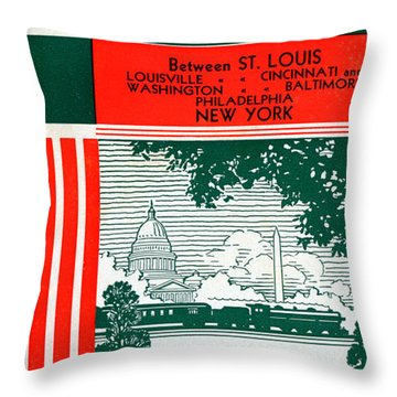 National Limited Throw Pillow