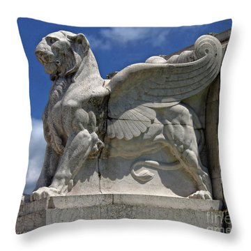 National Monument To Victor Emmanuel II Throw Pillow