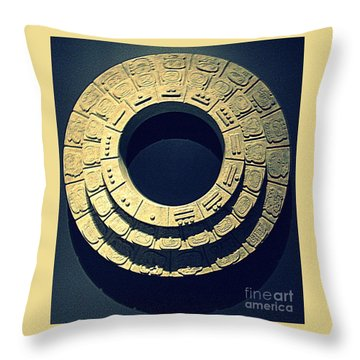 National Museum Of The American Indian 10 Throw Pillow by Randall Weidner