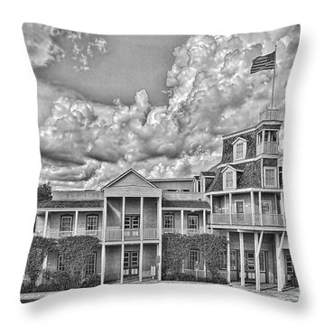 National Museum Of The Pacific War Throw Pillow