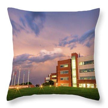 National Weather Center II Throw Pillow
