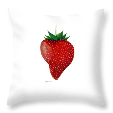 Natural Beauty Throw Pillow by Danielle R T Haney
