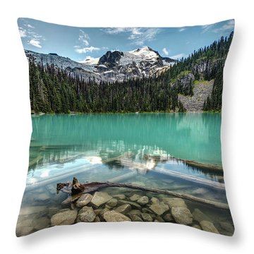 Throw Pillow featuring the photograph Natural Beauty Of British Columbia by Pierre Leclerc Photography