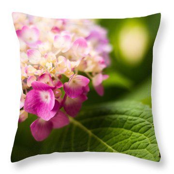 Natural Beauty Throw Pillow by Parker Cunningham