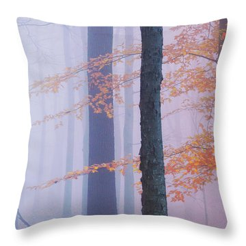 Natural Bliss Throw Pillow by Rima Biswas