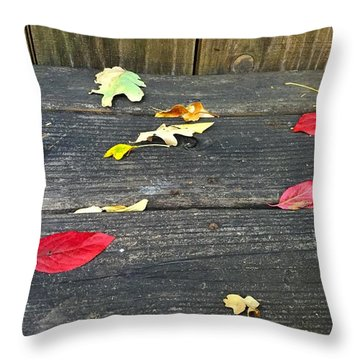 Natural Fall Throw Pillow