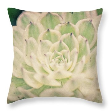 Throw Pillow featuring the photograph Natural Geometry by Ana V Ramirez