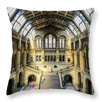 Throw Pillow featuring the photograph Natural History  by Michael Hope