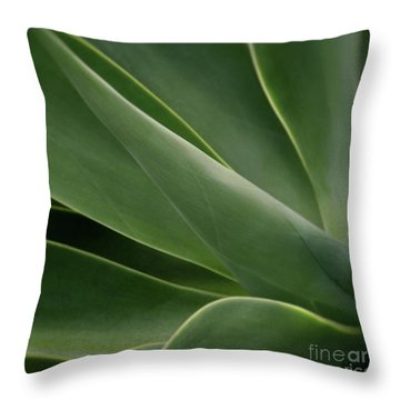 Natural Impressions Throw Pillow by Sharon Mau