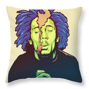 Rastafari Throw Pillows