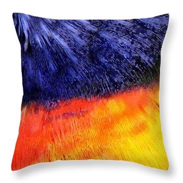 Natural Painter Throw Pillow