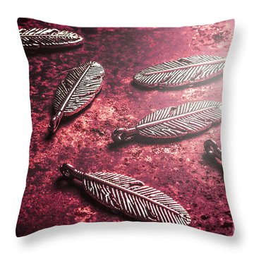 Natural Shine Throw Pillow