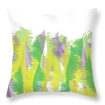 Nature - Abstract Throw Pillow