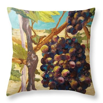 Nature's Abundance Throw Pillow