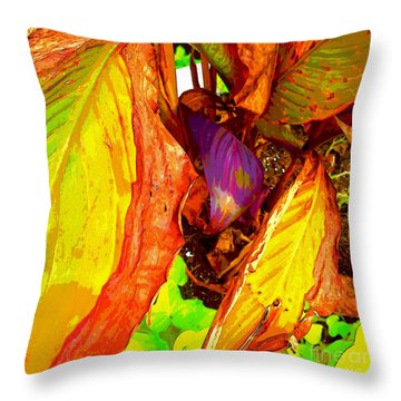 Nature Beauty Throw Pillow