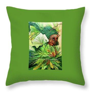 Nature Element Throw Pillow