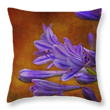 Nature Enhanced Throw Pillow