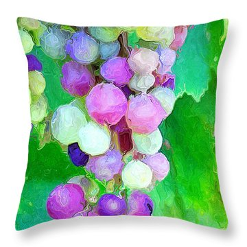 Throw Pillow featuring the photograph Nature Made  by Heidi Smith