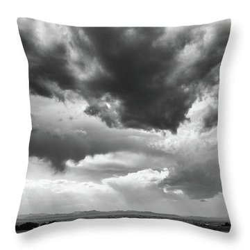 Throw Pillow featuring the photograph Nature Making Art by Monte Stevens