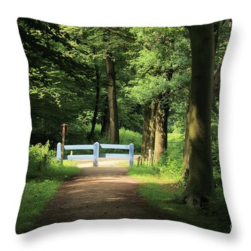 Nature Reserve Netherlands  Throw Pillow